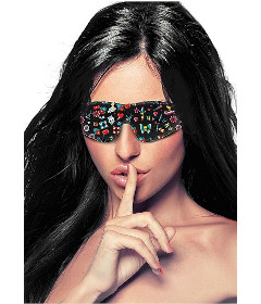 Ouch - Printed Eye Mask