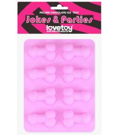Lovetoy Pecker Chocolate & Ice Tray