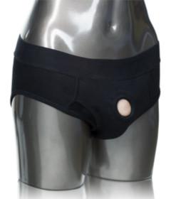 Packer Gear Black Brief Harness XL 2XL