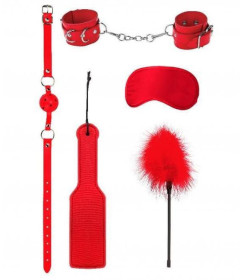OUCH Intro Bondage Kit 4 Red