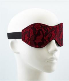 Sensara Jacquard Blindfold Red