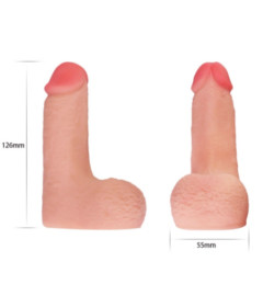 Lovetoy Skinlike Soft Dong 5inch