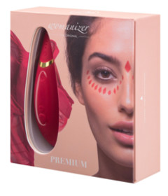 Womanizer Premium Red with Gold