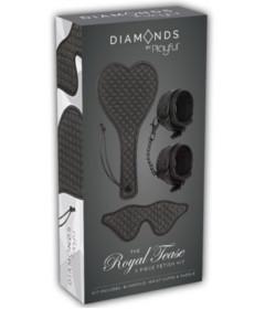 Diamonds Royal Tease 3pc Fetish Kit