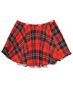Vibes LIT AF Plaid Skirt S M