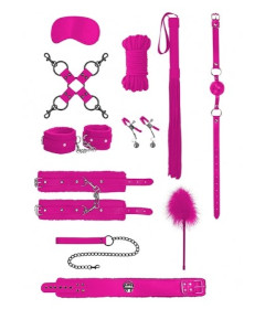 OUCH Intermediate Bondage Kit Pink