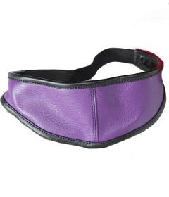 BLI002- Purple Total Blackout Blindfold