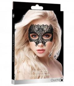 Princess Black Lace Mask