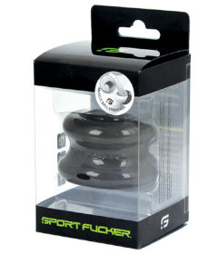 Sport Fucker TPE Muscle Ball Stretcher - Black