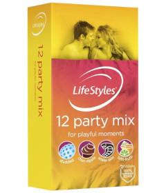 Ansell Lifestyles Party Mix 12pk