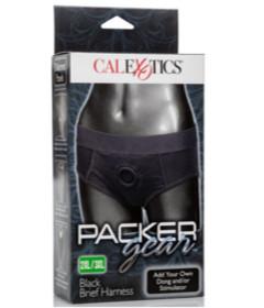 Packer Gear Black Brief Harness 2XL 3XL