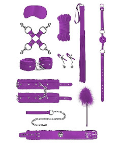 OUCH Intermediate Bondage Kit Purple