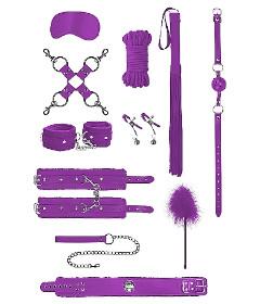 OUCH Intermediate Bondage Kit Purple