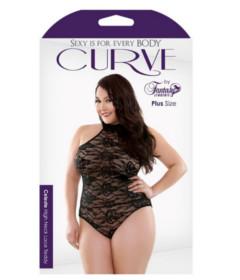 Curve P273 Celeste Halter Teddy 3X4X