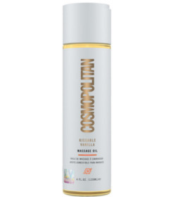 Cosmopolitan Kissable Vanilla Massage Oil 120ml
