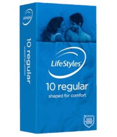 Lifestyles Regular 10pk