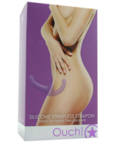 OUCH Silicone Strapless Strap On Purple