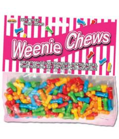 Weenie Chews Penis Shaped Chewing Gum