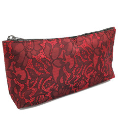 Lace Storage Bag Red By Brigitta