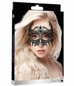Empress Black Lace Mask