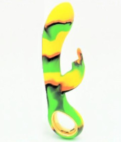 Camo Dini Heating Vibrator Green
