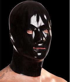 Saxenfelt Rubber Mens Hood Black