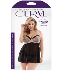 Curve P276 Serena Babydoll 3X4X
