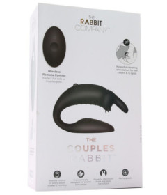 The Couples Rabbit by We-Vibe Black