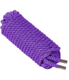 ROP002PUR Satin Rope Purple 10M
