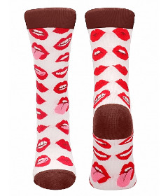 Sexy Socks Lip Love Size 36-41