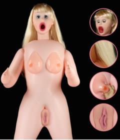 Victoria Silicone Boobie Love Doll