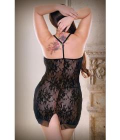 Curve Isabella Lace Dress & Panty 1x2x