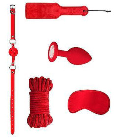 OUCH Intro Bondage Kit 5 Red