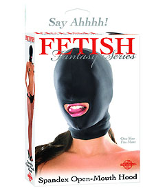 Fetish Fantasy Spandex Open Mouth Hood