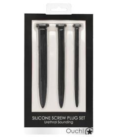 Silicone Rugged Nail Sounding Plug Set